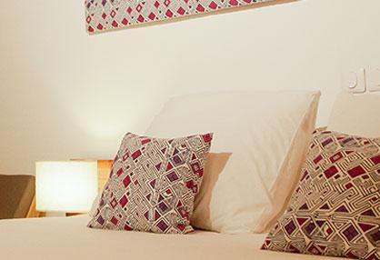 Chambre Coté Sud -  Assoyam, Hôtel-Restaurant à Grand Bassam